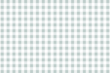 Silver Gingham pattern. Texture from rhombus/squares for - plaid, tablecloths, clothes, shirts, dresses, paper, bedding, blankets, quilts and other textile products. Vector illustration.