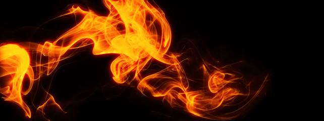 炎の背景素材