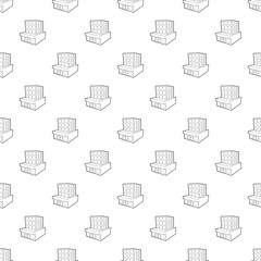 Building pattern vector seamless repeating for any web design