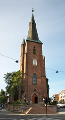 Margaretakyrkan church in Oslo. Norway