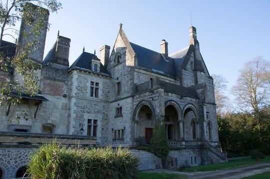 chateau de martinvast, normandie