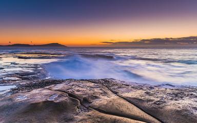 Dawn's Glow Seascape