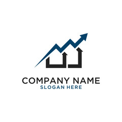Growth home logo design