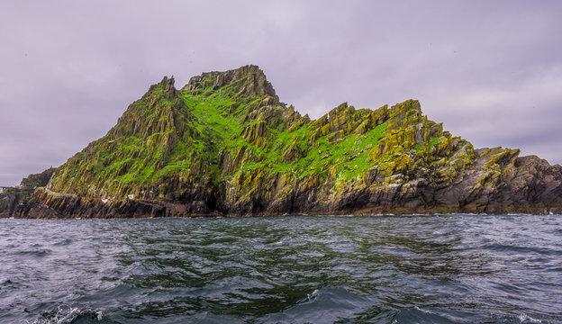 The beautiful island of Skellig Michael - The Irish Skelligs