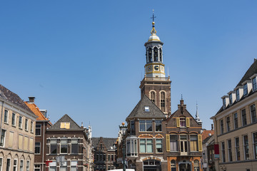 Buildings of the center of the town of Kampen. holland netherlands Fototapete