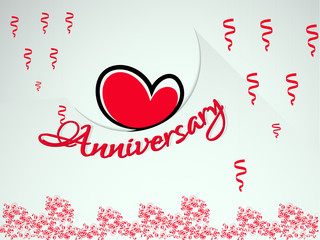 nice and beautiful abstract or poster for Anniversary Badges or poster with nice and creative design illustration.