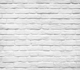 White brick wall background
