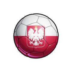 Polish Eagle Flag Football - Soccer Ball