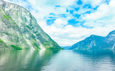 Fjord Landschaft in Norwegen