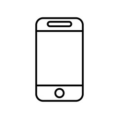 Smartphone icon vector icon. Simple element illustration. Smartphone symbol design. Can be used for web and mobile.
