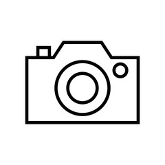 Photo camera icon vector icon. Simple element illustration. Photo camera symbol design. Can be used for web and mobile.