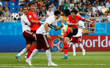 World Cup - Group F - South Korea vs Mexico