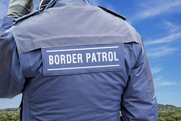 border protection, border patrol (symbol picture)