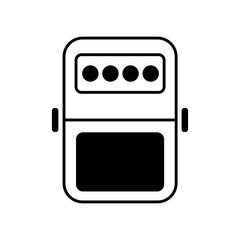 pedal icon vector icon. Simple element illustration. pedal symbol design. Can be used for web and mobile.
