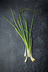 Spring green onions