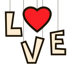 LOVE , Font Type