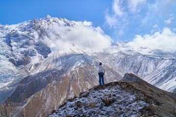 Langtang Himalayas Valley Trekking Nepal
