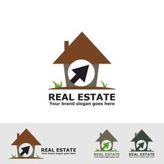 real estate nature logo