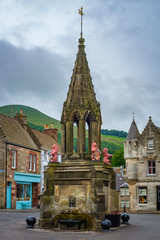 Village Fountain Falkland Scotland
