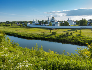 View of Pokrovsky Monastery in Suzdal, Russia