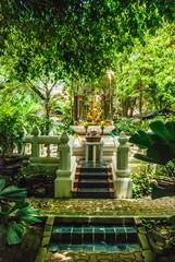 Thailand Temple in Jungle
