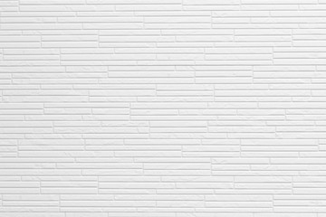 Modern white stone wall pattern and background