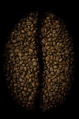 Big coffee bean