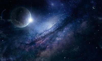млечнвй путь в космосе