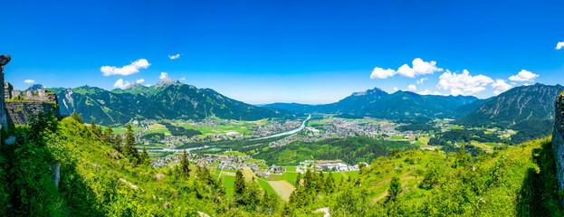 Die Stadt Reutte in Tirol