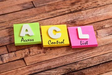 post-it acronym :  ACL