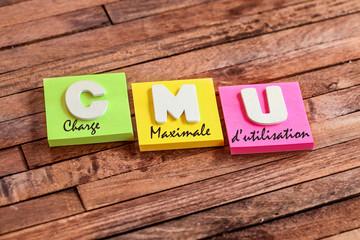 post-it acronyme : CMU