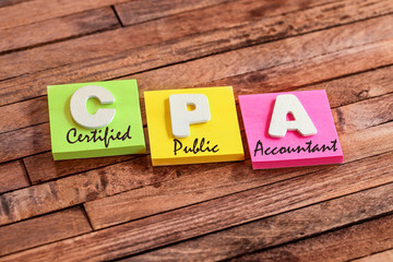 post-it acronym : CPA (certiied Public Accountant)