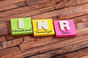post-it acronyme : INR