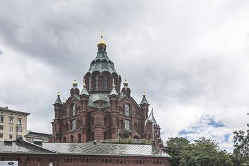 Uspenski cathedral at helsiniki