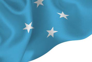 ミクロネシア  国旗 旗 背景