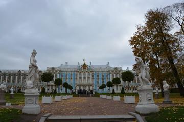 ロシアサンクトペテルブルクのツアールスコエセロー