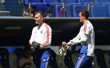 Soccer Football - World Cup - Russia Training