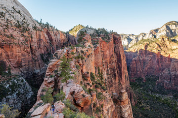 Landscape of the Zion National park, Utah, USA