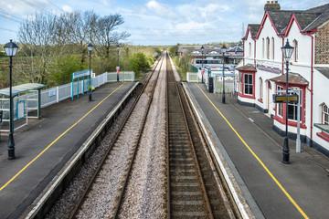 The longest place name of the UK, llanfairpwllgwyngyllgogerychwyrndrobwllllantysiliogogogoch on the public train station