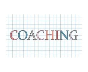 coaching concept- vector illustration