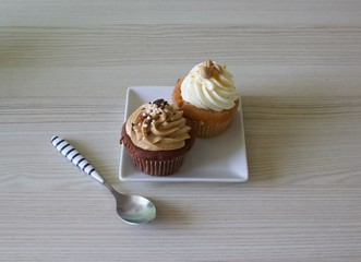 Cupcakes from the bakery