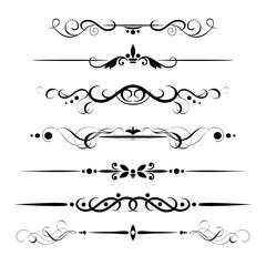 set decorative delimiters