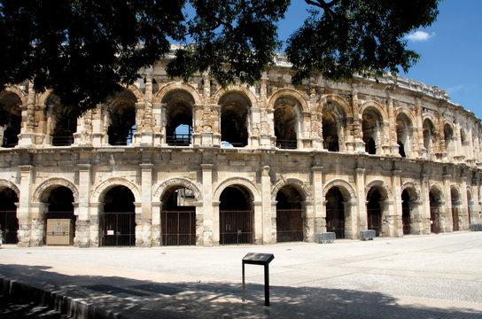 Arènes de Nîmes, Nîmes, département du Gard, France