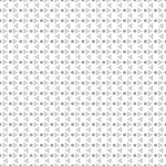Seamless geometric background. Simple pattern with trapezoids and dots. Doodle for design. Art creation. Greeting cards