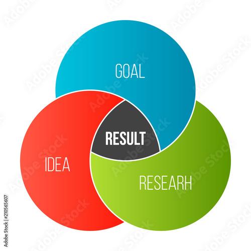 Creative Vector Illustration Of Business Presentation Slide Template