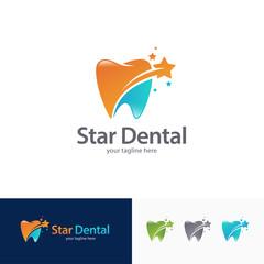 Dental Star Logo Design Template