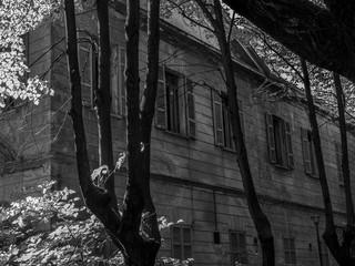 Abandoned psychiatric hospital in Italy