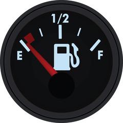 Fuel gauge. vector illustration