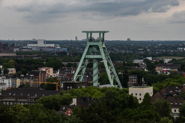 Ruhrgebiet Panoramablick vom Bismarckturm Bochum