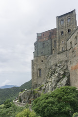 Printed roller blinds Castle The Sacra di San Michele, also known as Saint Michael's Abbey, Piedmont, Italy.